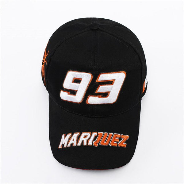 Team B GP 93 Motorcycle Racing Hat Motocross Riding Hats 3D Embroidered Wing Racingaseball Cap M Gorro Cap Golf-lilogal