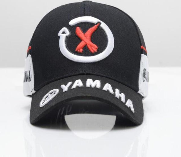 2018 New Arrival High Quality Snapback cap Brand Baseball Cap 2 color YAMAHA 3D Embroidery Hat For Mens Women boy Motorcycle Cap-lilogal