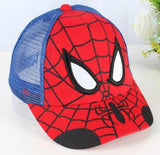 2017 Spiderman Cartoon Children Baseball Cap kids Boy Girl Hip Hop Hat Spiderman sunhat cosplay accessary-lilogal