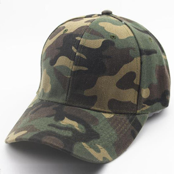 CHAMSGEND New 2018 Summer Fashion Unisex Camouflage Baseball Cap Snapback Hat Hip-Hop Adjustable Hat-lilogal
