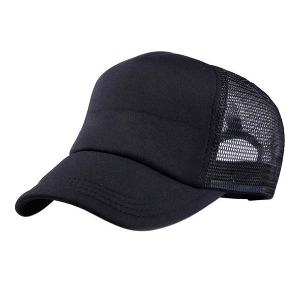 EFINNY Adjustable Child Hats Casual Kids Summer New Classic Trucker Kids Baseball Mesh Cap Children Sun Hat-lilogal