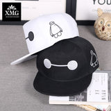 The United States super Corps Big hero 6 Baymax Adsit Film Hero Baseball Caps snapback cap Cartoon Character High quality hat-lilogal