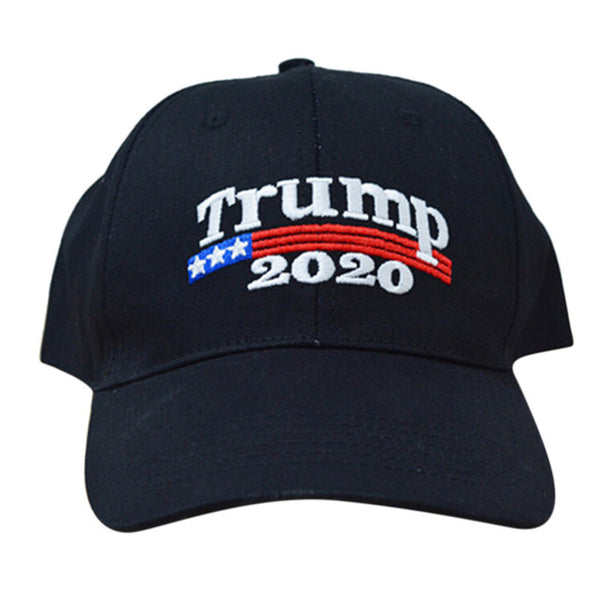 Long Keeper Embroidery Trump 2020 Make America Great Again Donald Hat Daddy Cap US Republican Black-TOP Adjustable Casual Hat-lilogal