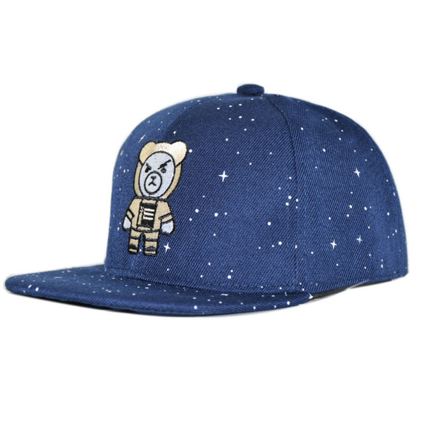 Children Cap WESTERN Letters Embroidered Child Baseball Cap Hip Hop Starry Snapback Hats for Boys Girls Summer Cap-lilogal