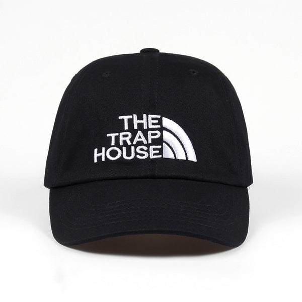 2018 new THE TRAP HOUSE baseball cap New Fashion Style Rap Hip Hop Dad Cap Cotton For Women Men Hip Hop Cap Gorra golf cap hats-lilogal