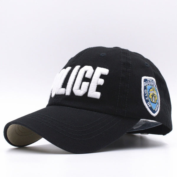 [SOTT] 11 Colors Kids High Quality Cotton Police Baseball Caps for Boys Girls Bone Gorras Hat Snapback Caps B-177-lilogal