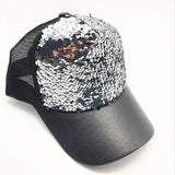 Summer Women Baseball Caps Sequins Mesh Cap Adjustable Fashion Hats Snapback Sports Floral Paillette Adjustable Summer Gorras-lilogal