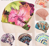 Women's Stretch Bandana Printing Headband Elastic Turban Hair Band Bohemia Style Head Wrap Hair Accessories Elastic hairbands-lilogal