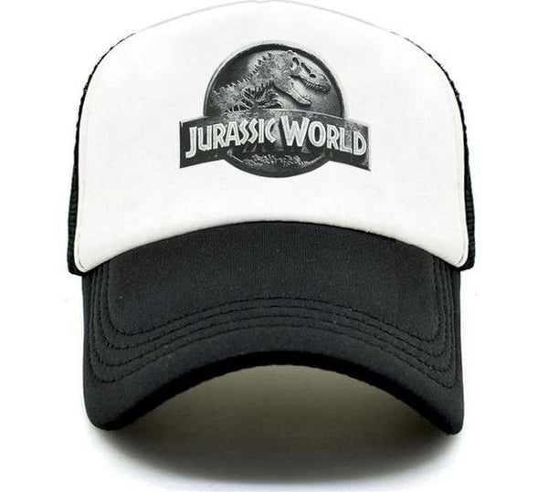 CLIMATE New Jurassic World Park Cap Hat Women Men Jurassic Park Dinosaur Caps Hat Cool Summer Hip Hop Mesh Baseball Caps Hat Men-lilogal