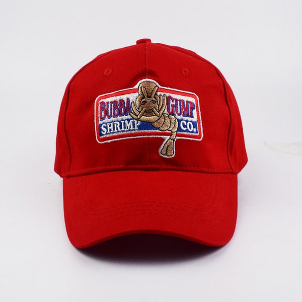 1994 BUBBA GUMP SHRIMP Baseball cap men women Sport hats Summer Cap Embroidered casual Hat Forrest Gump caps Costume wholesale-lilogal