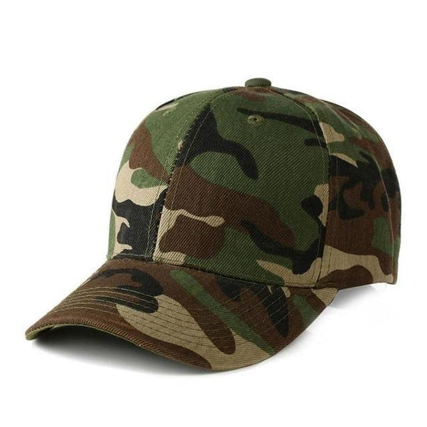 2018 Camouflage Baseball Cap Men Tactical Cap Camouflage Hippop Snapback Hat For Men High Quality Masculino Dad Hat-lilogal