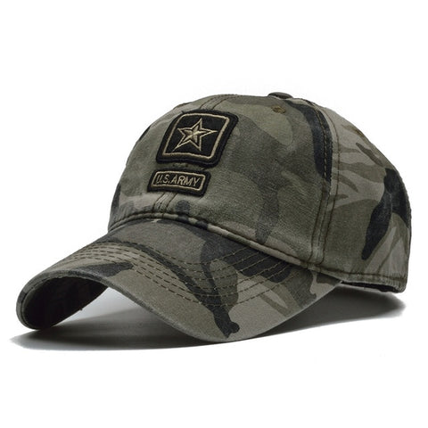 [NORTHWOOD] US Army Cap Camo Baseball Cap Men Camouflage Baseball Hats Snapback Bone Masculino Trucker Cap Pentagram Dad Hat-lilogal
