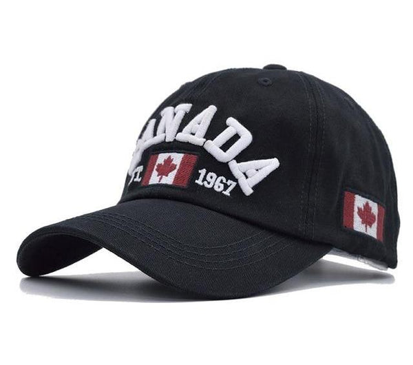 [NORTHWOOD] 2018 Cotton Gorras Canada Baseball Cap Flag Of Canada Hat Snapback Adjustable Mens Baseball Caps Brand Snapback Hat-lilogal