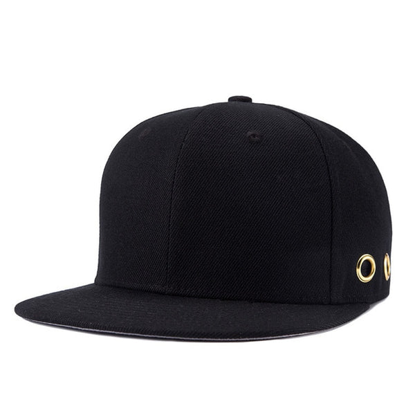 [NORTHWOOD] 2018 Solid Bone Snapback Caps Gorra Black Snapback Hats For Men Brand High Quality Unisex Black Hip Hop Baseball Cap-lilogal