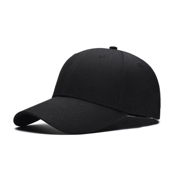 1Pcs 2018 Fashion Women Men Summer Spring Cotton Adult baseball Cap Solid Color Adjustable Sport Duckbill Hat-lilogal