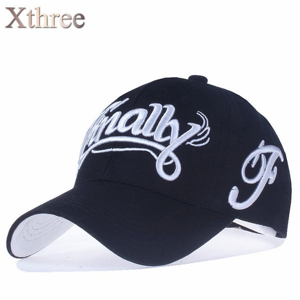 [Xthree]100% cotton baseball cap women casual snapback hat for men casquette homme Letter embroidery gorras-lilogal