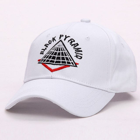 LANHUIFD New Embroidery BLACK PYRAMID Cap Dad Hat bone feminino Hip Hop Women's cap gorras para hombre Baseball Cap Man Letter-lilogal