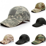 6 Patterns for Choice Snapback Camouflage Tactical Hat Patch Army Tactical Baseball Cap Unisex ACU CP Desert Camo Hats For Men-lilogal