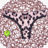 5xl big size women black color sexy underwear ladies underwear panties lingerie bikini ear pants/ thong/g-string 1pcs/lot ah09-lilogal