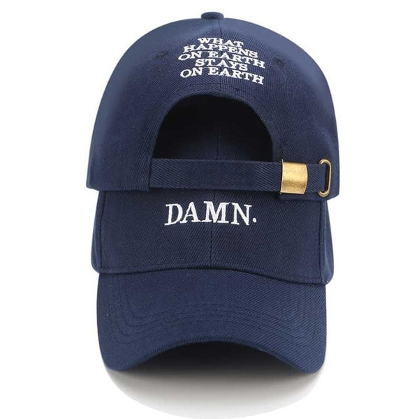 Dad Hat Kendrick Lamar Snapback Hip Hop Cap Damn Baseball Caps Men Black Trucker Hats Women Casual Summer Visor Hats Adjustable-lilogal