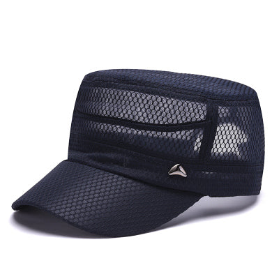 Male Bones Baseball Mesh Tactical Caps Summer Casual Fashion Snapback Hat Hombre Breathable Sun Visor Hats Quick Dry Gorras-lilogal