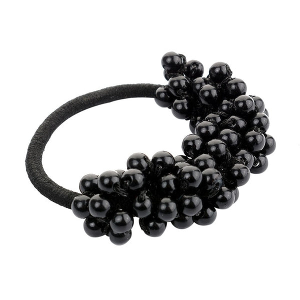 2018 Women Hair Accessories Pearl Elastic Rubber Bands Ring Headwear Girl Elastic Hair Band Holder Scrunchy Rope Hair Jewelry-lilogal
