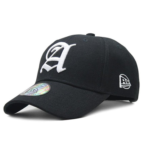 [AETRENDS] Fashion 2018 Black Cap Man Luxury Brand Outdoor Sport Baseball Caps for Men Hat Baseball Hats Bone Masculino Z-6392-lilogal