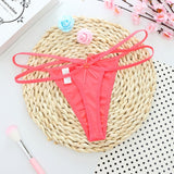 feitong G-string Thongs Panties Underwear Briefs sexy bandage g string thongs women panties underwear briefs lace #5-lilogal