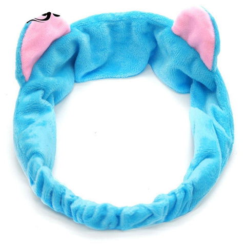 Zeagoo Cute Cat Ears Headdress For Women 7 Colors Casual Party Makeup Hairband Artificial Velvet Gift-giving Hair Accessories-lilogal