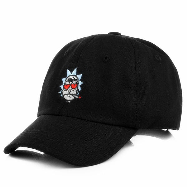 The New US Animation Rick Caps Dad Hat Rick and Morty Hats Adjustable Casquette High Quality Cotton Baseball Cap Bone Snapback-lilogal