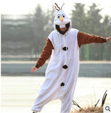 2018 New Adults Unicorn Pajamas Sets Flannel Animal Pajamas Cartoon Sleepwear Cosplay Zipper Women Men Winter Unisex Nightwear-lilogal