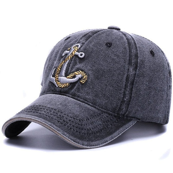 Washed soft cotton baseball cap hat for women men vintage dad hat embroidery casual outdoor sports cap-lilogal