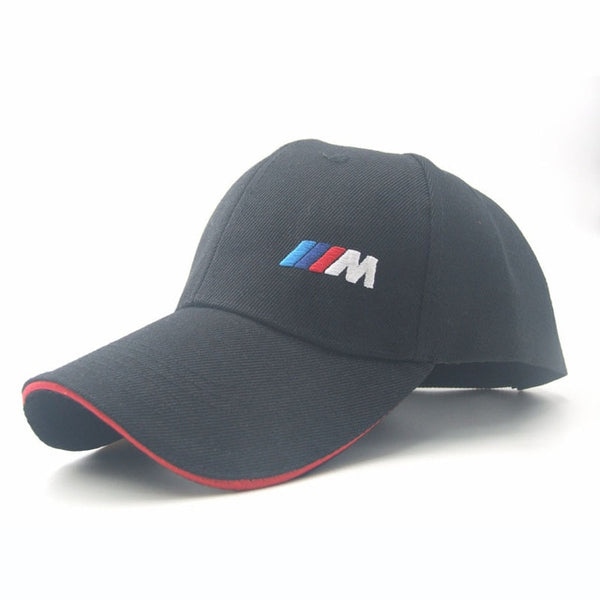 Racing Car logo M performance Baseball Cap Speedway Series Rally Hats Car Fans Motorcycle Moto Caps Sun Snapback Men Women Hats-lilogal