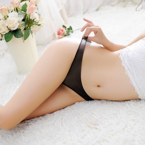 New Arrival Seamless Underwear Women Sexy Panties Thong Transparent Low Waist G-String And Thongs Hot Sale-lilogal