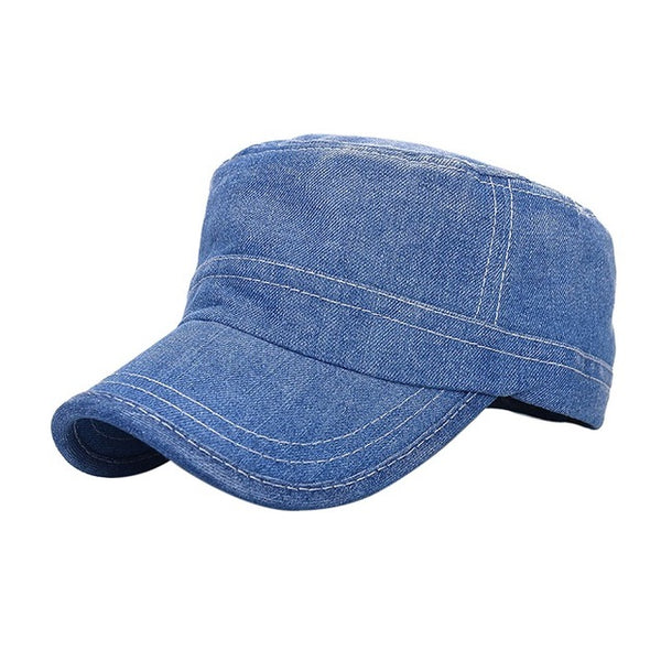 Fashion Unisex Denim Cap Men Women Snapback Baseball Caps Hats Cool Hip Hop Solid Gorras Casquette Chapeu Hat Female Male-lilogal