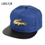 2018 acrylic Metal Cross superman batman Crocodile Baseball Cap hip-hop cap Adjustable Snapback Hats for men and women-lilogal