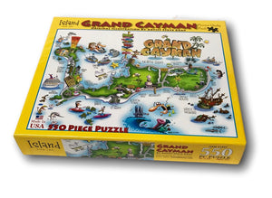 Grand Cayman 550 Piece Jigsaw Puzzle