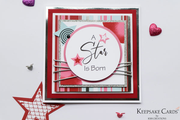 A 'Star' is Born_Keepsake Card