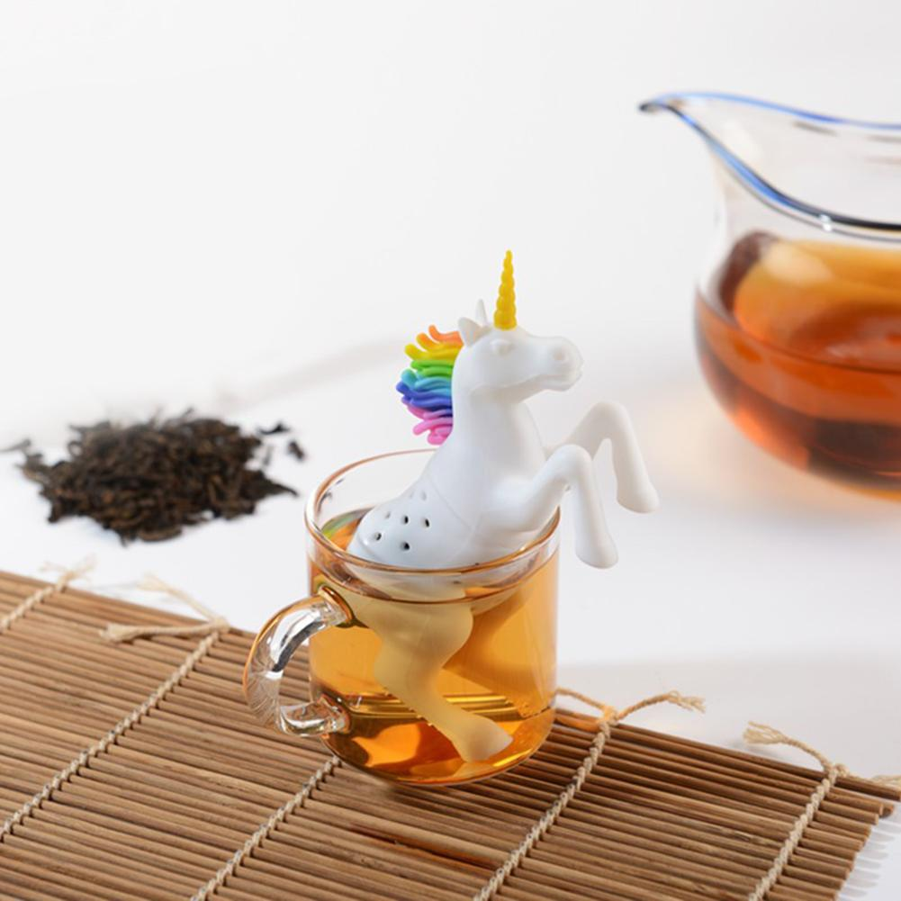 Unicorn infuser on a mat