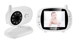 Electronic Security Nanny Baby Monitor Camera Wireless Video VOX Night Vision