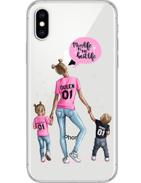 Queen mom iPhone case