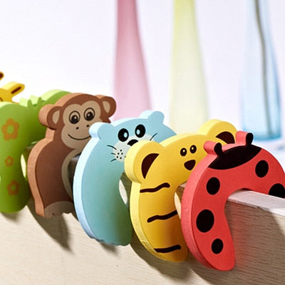 Baby Safety Door Stoppers 10 pack