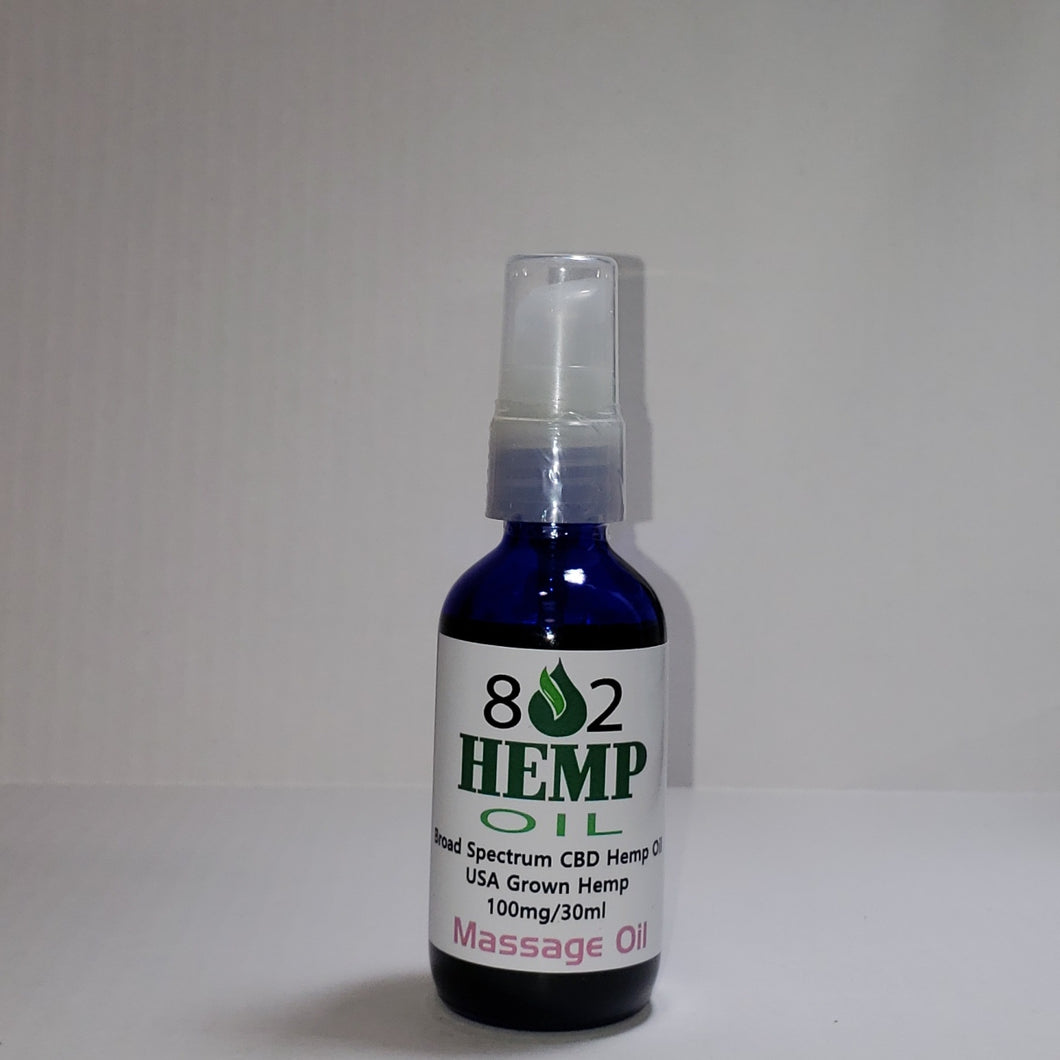 hemp derived Hemp Massage Oil