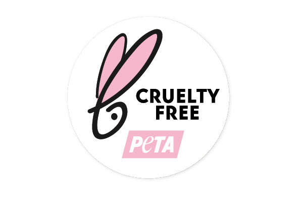 We are 100% PETA approved cruelty free