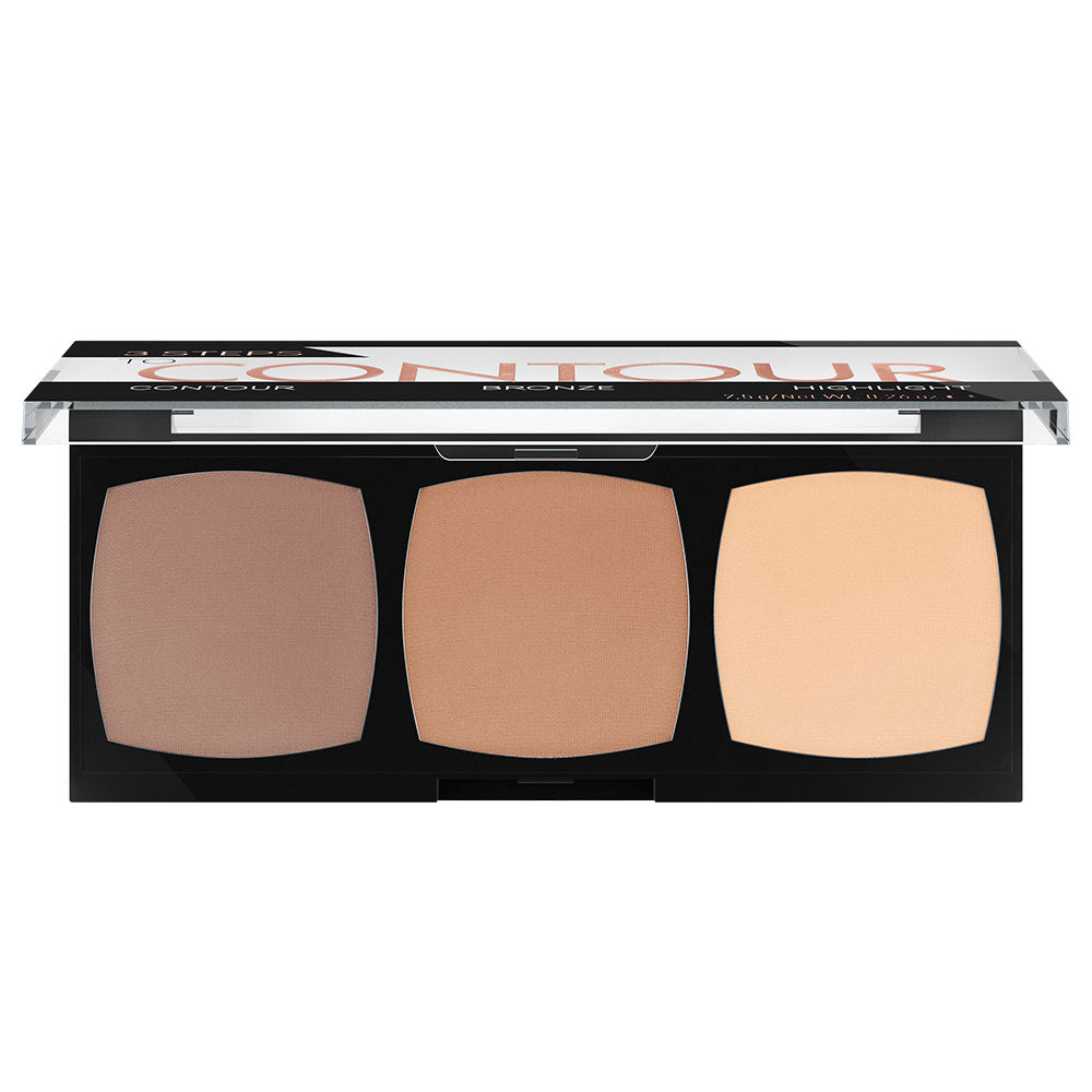 3 steps to contour palette