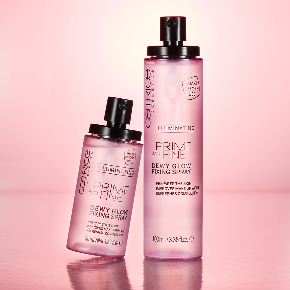Jumbo Prime & Fine Dewy Glow Finishing Spray