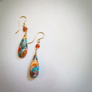 Oyster Copper Turquoise
