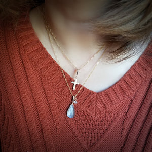 Brown Moonstone Necklace