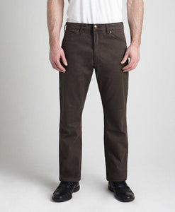 #283BR - Brown Lightweight Stretch Twill Pant