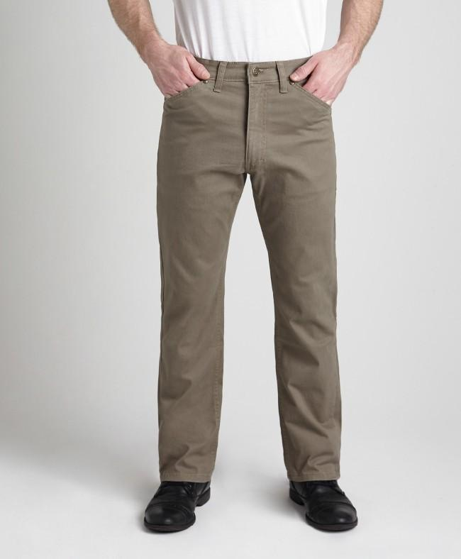 #283K - Khaki Lightweight Stretch Twill Pant
